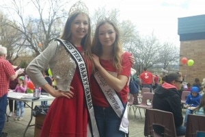 With Miss Teenage Kelowna