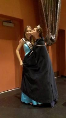 She kissed me