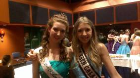 With Miss O'keefe ranch