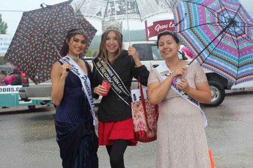 Salmon Arm Parade with Miss Penticton and Penticton Princess Photo by: Tina Stasuik